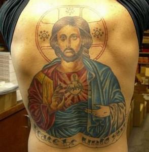 Татуировки в христианстве