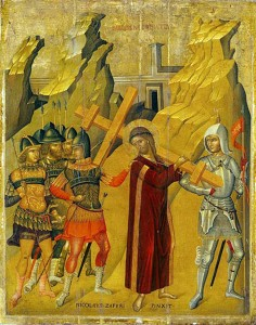 Икона: Несение Креста