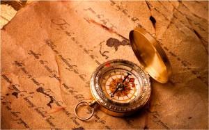 Фото: старый компас