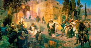 """Поленов """"Христос и грешница"""""""