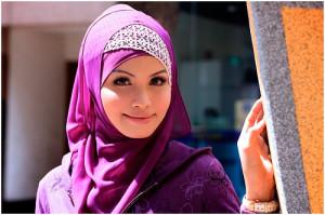 Красивая мусульманка