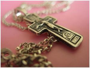 Освящение нательного крестика