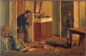 Иллюстрация: преступление и наказание