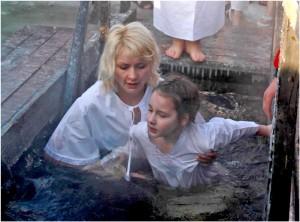 фото: купание в проруби