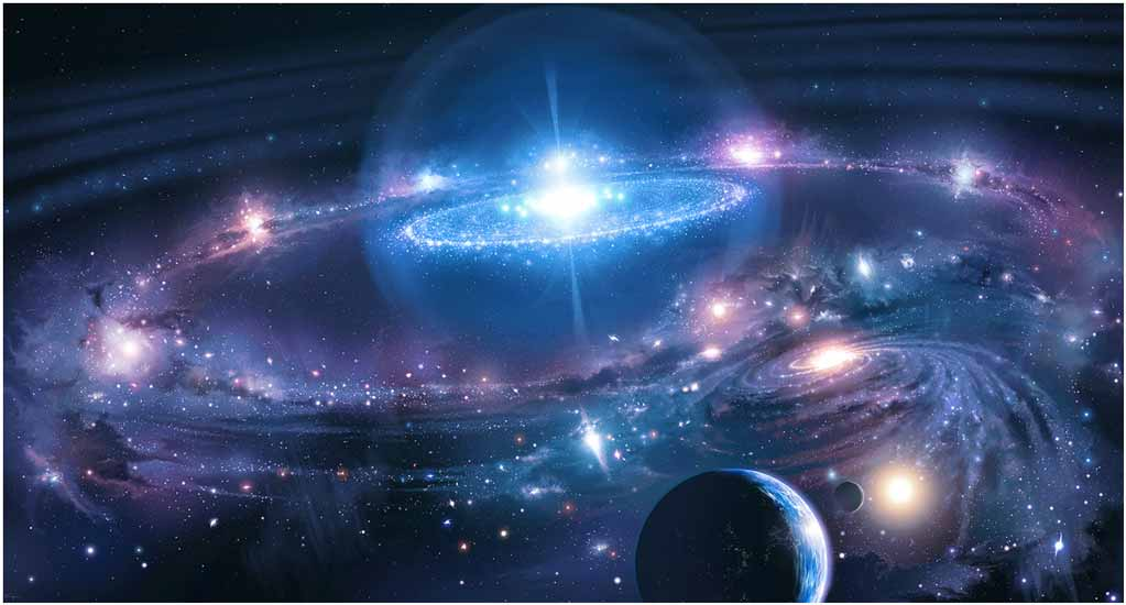 Сотворение мира: вселенная