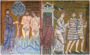 фреска изгнания из рая