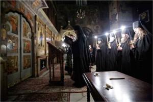 Монашеский постриг в монастыре