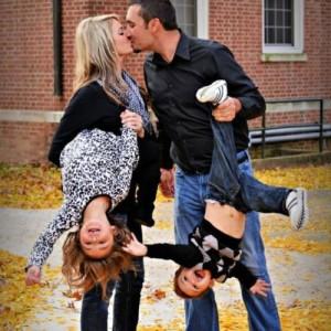 Любовь к мужу и ребёнку