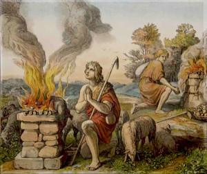 Каин и Авель жертва Богу