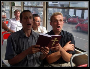Фанатики с Библией