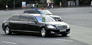 Машина Патриарха Кирилла